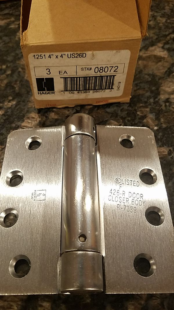 Set of 3 HAGER HINGES 1251 4