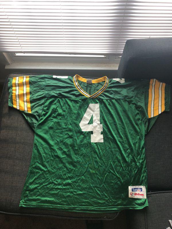 size 40 82aae 27d8a GB Packers Brett Favre Jersey for Sale in Portsmouth, VA - OfferUp