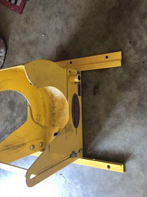 Zero turn lawn mower trailer wheel lock - pro locker for Sale in Clarksburg, MD