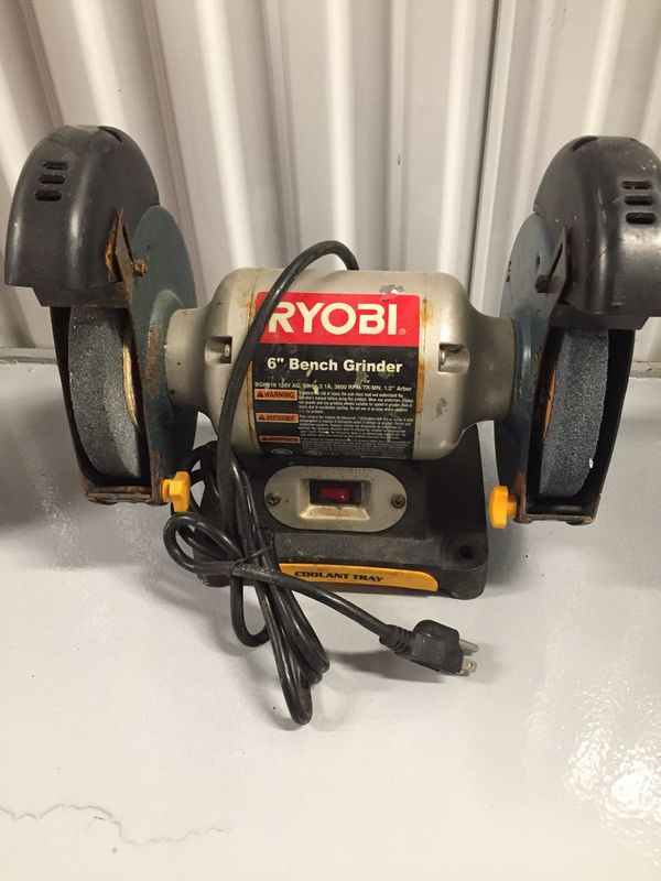 Pleasant Ryobi 6 Bench Grinder For Sale In Saugus Ma Offerup Andrewgaddart Wooden Chair Designs For Living Room Andrewgaddartcom