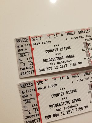 MAIN FLOOR Country Rising TICKETS! for Sale in Nashville, TN