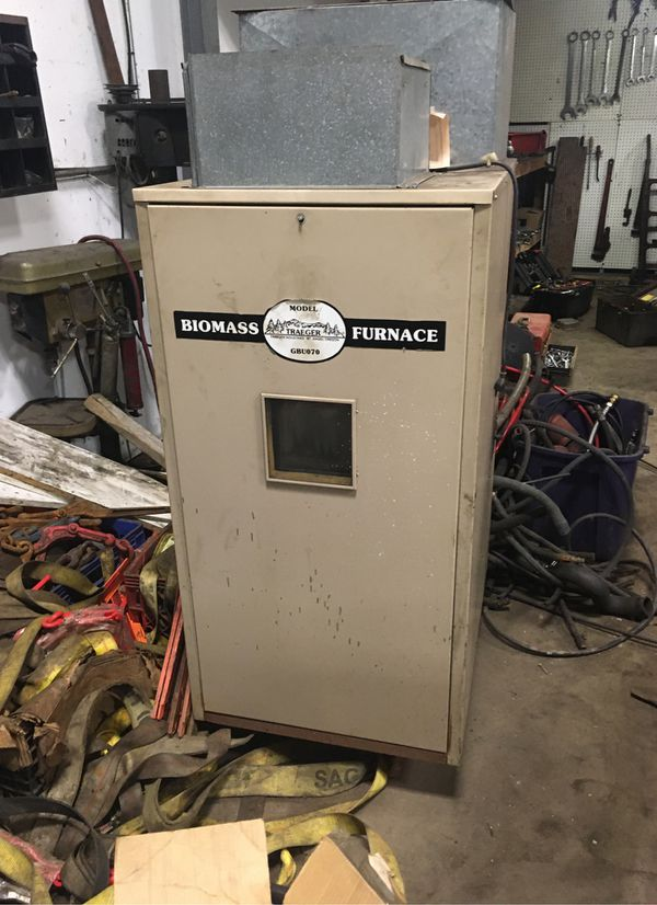 Wood pellet furnace for Sale in North Haven, CT - OfferUp