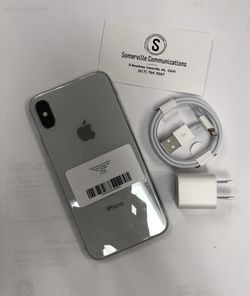 Factory unlocked iPhone x 64 gb, excellent conditions store warranty Thumbnail