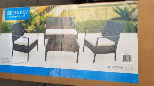 Siesta Key 4 Pc Patio Set For Sale In Overland Park Ks Offerup