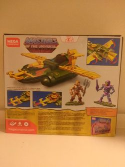 Masters of the universe Mega Construx Wind Raider Brand New In Box  Thumbnail