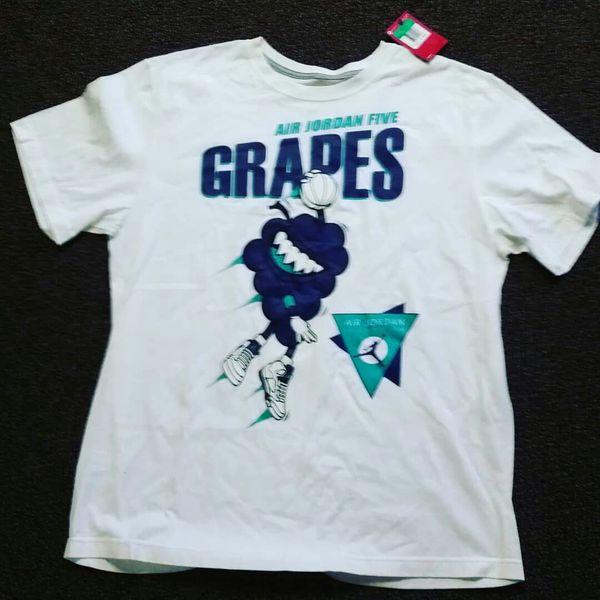 8d2c8347f734e7 Jordan retro 5 grapes shirt for Sale in Saint Paul