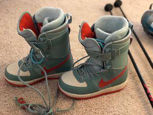 Snowboard boots NIKE 6.5 for Sale in Alexandria, VA
