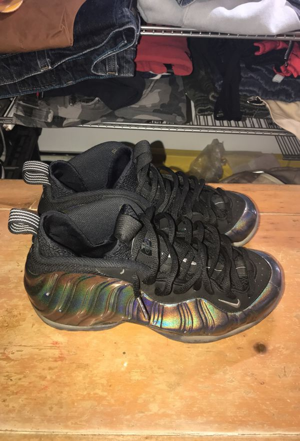 5d0aaef17ee wholesale nike foamposite hologram size 8.5 clothing shoes in anaheim ca  offerup fc35b 3179a