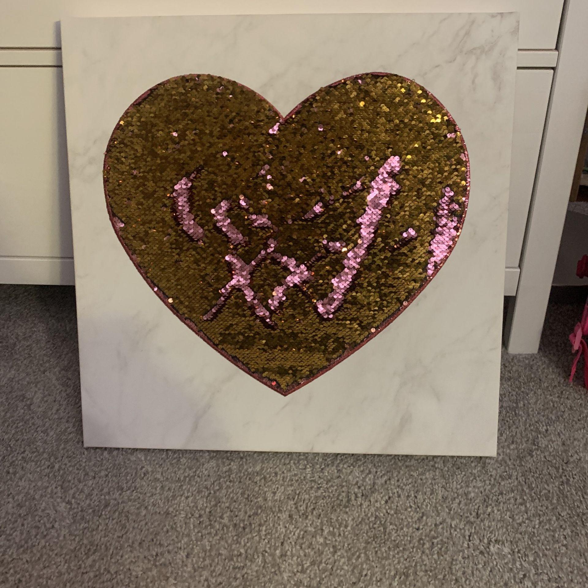 Wall Art for Girl's Bedroom