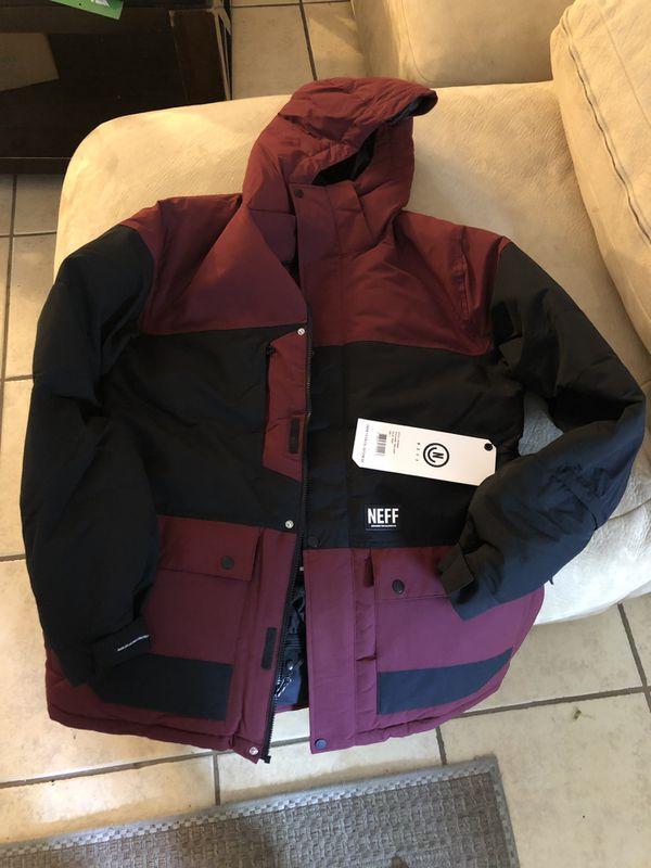 Brand New Neff Shield Snow Jacket For Sale In San Diego