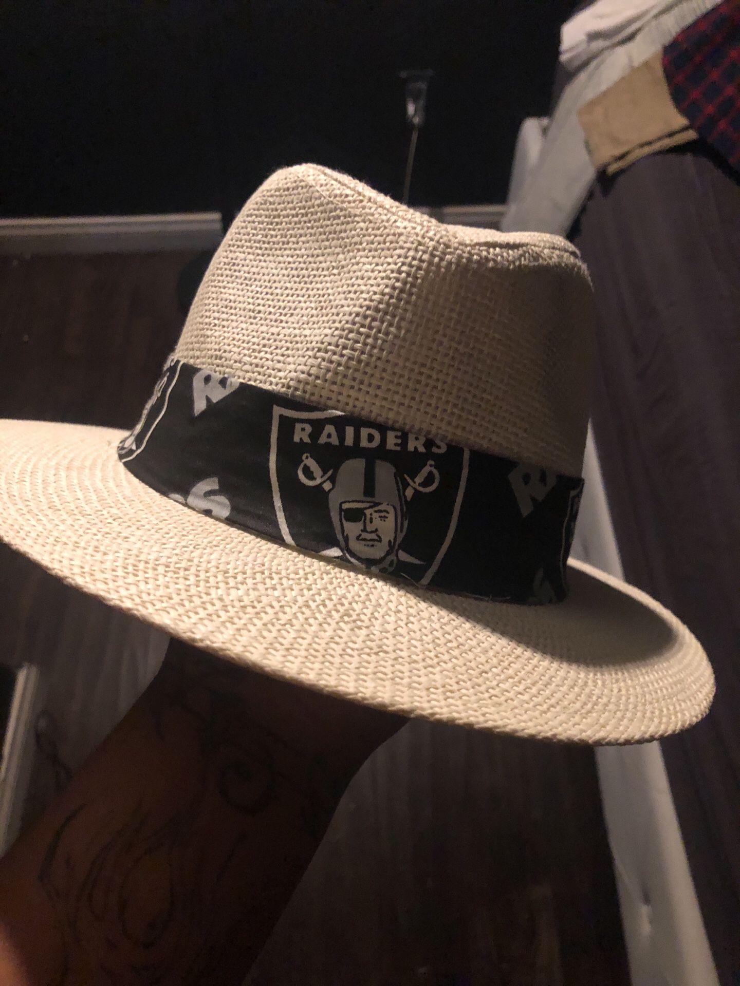 Raiders fedora