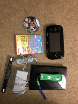 Wii U with minecraft Super Mario maker and a extra controller for Sale in Arlington, VA