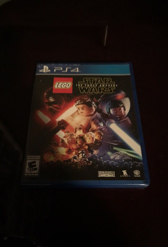 Lego Star Wars The Force Awakens Game For Playstation 4 Ps4 For