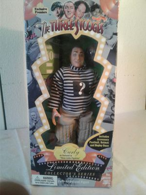 """EXCLUSIVE PREMIERE THE THREE STOOGES LIMITED EDITION COLLECTORS SERIES """"CURLY"""" for Sale in Hayward, CA"""
