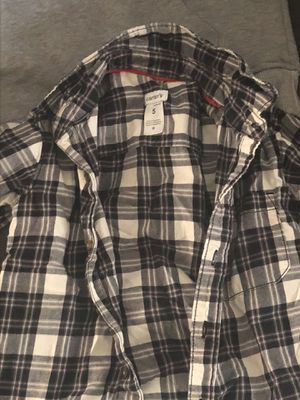 Carter's Plaid button up boys shirt size 5 for Sale in West Springfield, VA