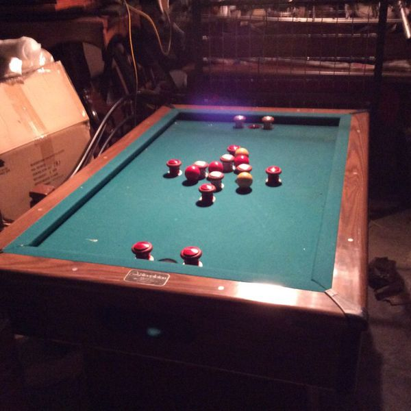 Steepleton Bumper Pool Table For Sale In Louisville KY OfferUp - Steepleton pool table