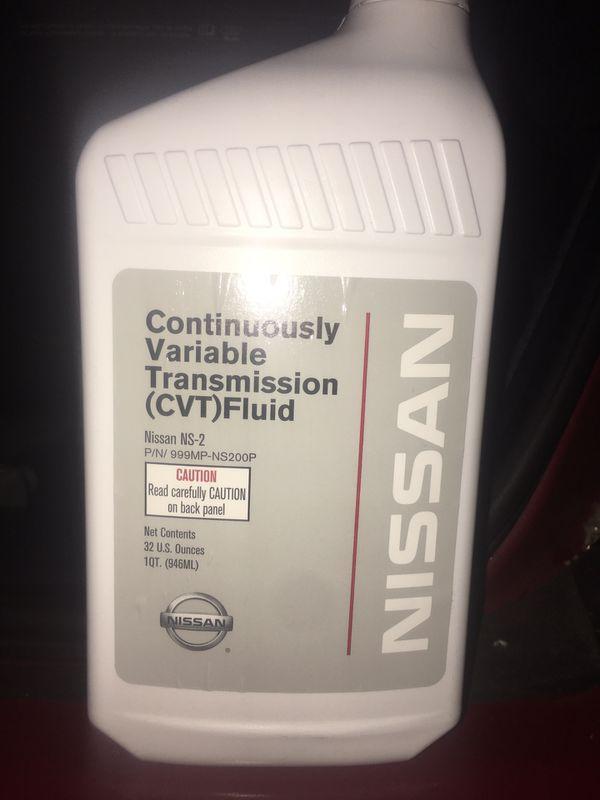 NISSAN CVT TRANSMISSION FLUID for Sale in Chicago, IL - OfferUp
