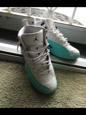 Jordan's 12's white & sky blue $70 DEAL for Sale in Arlington, VA