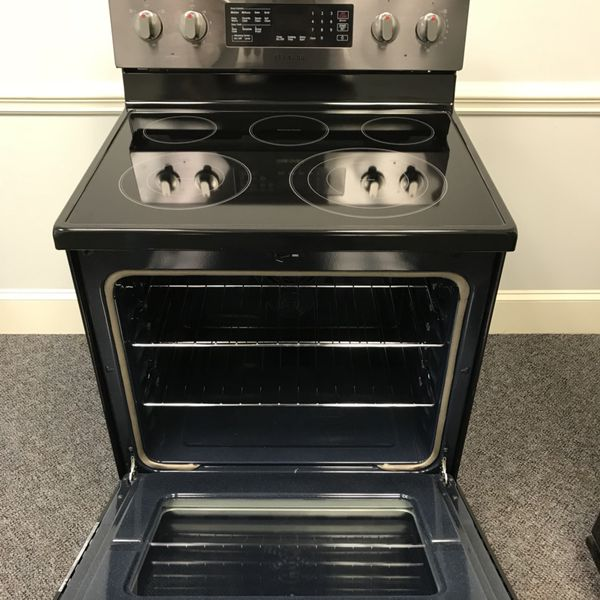New Scratch And Dent Black Stainless Steel Samsung Gl Top Stove