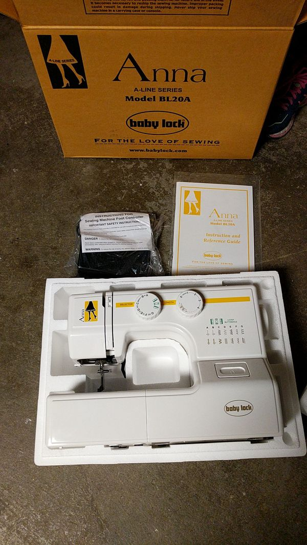 Anna Sewing Machine Model BL40A For Sale In Sunnyvale CA OfferUp Beauteous Anna Sewing Machine