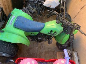 Photo 1984 in a 1985 250 Kawasaki 3 Wheeler