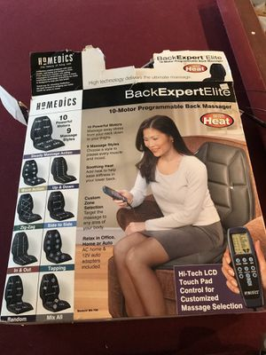 Homedics massage seat! for Sale in NO POTOMAC, MD