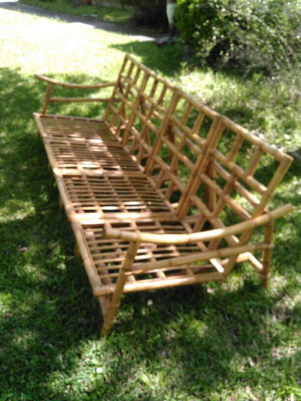 Vintage bamboo patio furniture Home Garden in Houston TX OfferUp