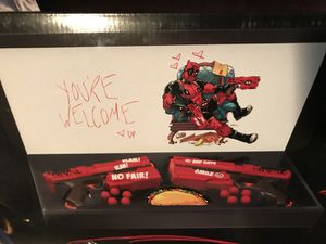 Limited edition Deadpool Nerf rival Kronos XVIII-500 for Sale in Lawndale, CA