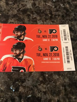 2 Flyers Tickets for Sale in Evesham Township, NJ