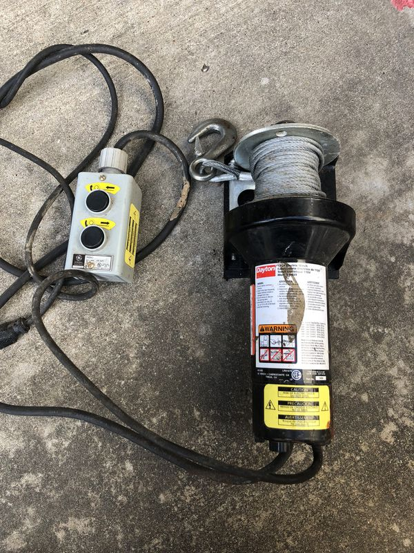 Dayton Pulling Electric winch (Tools & Machinery) in Houston, TX ...
