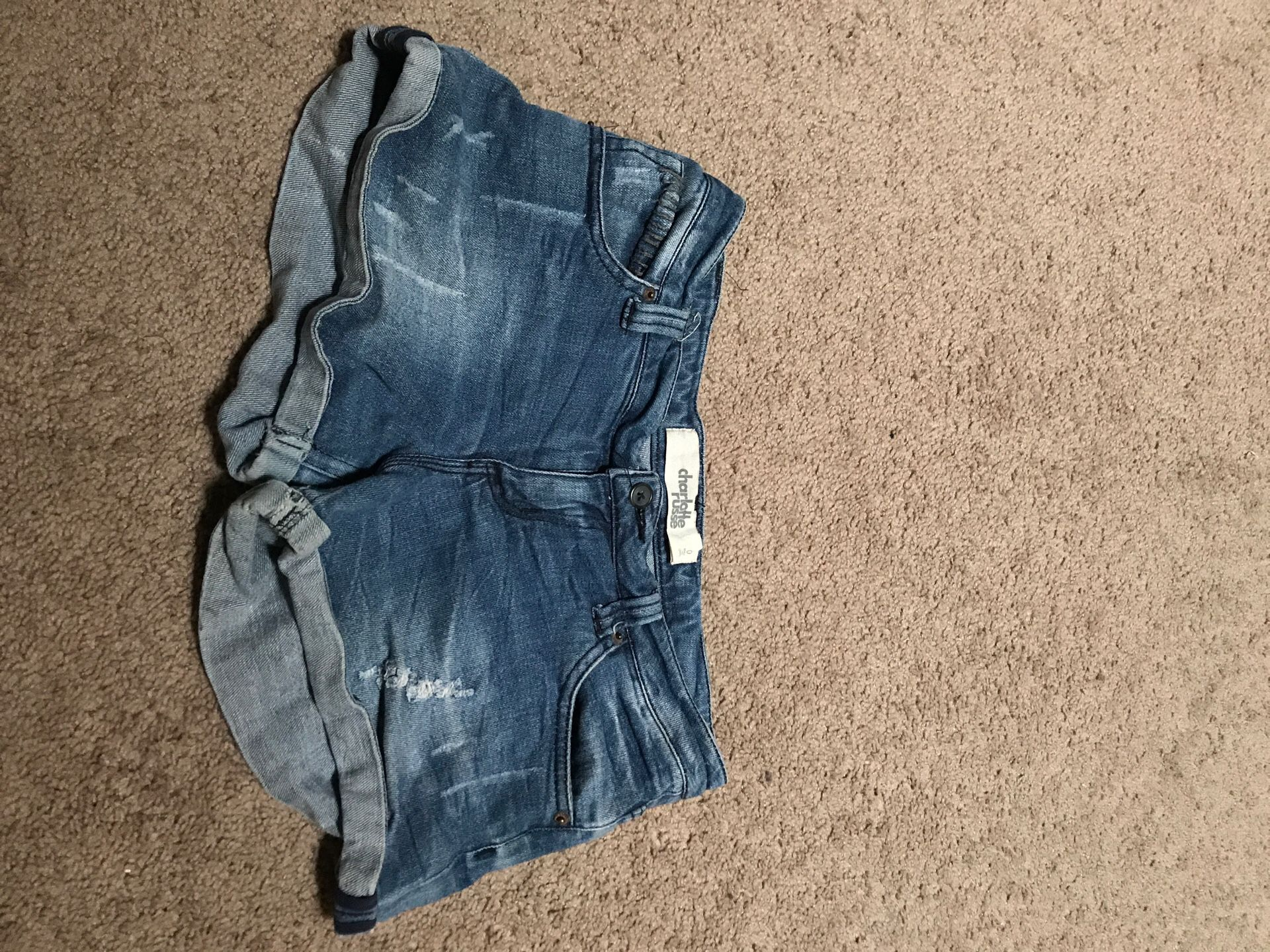 Charlotte Russe Jean shorts