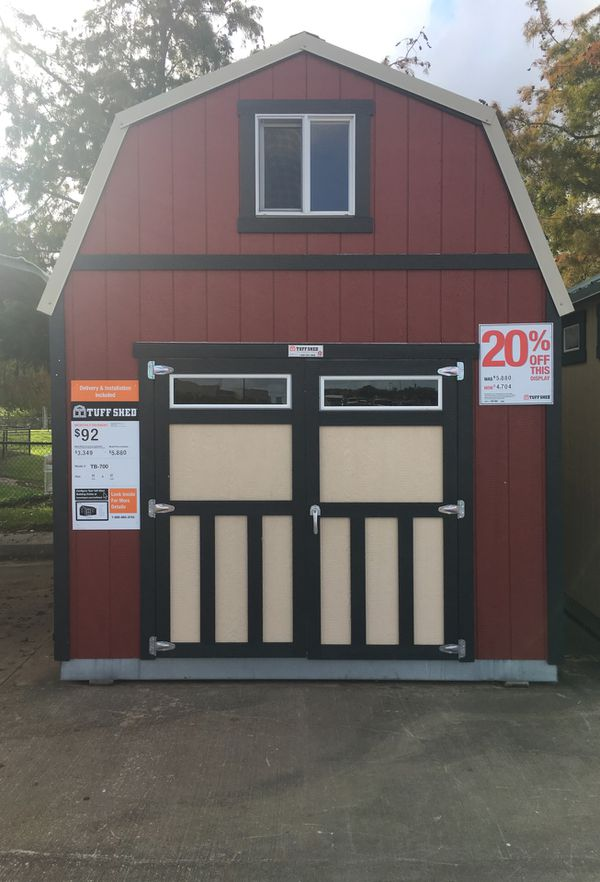Tuff Shed at Kemah Home Depot for Sale in League City, TX - OfferUp