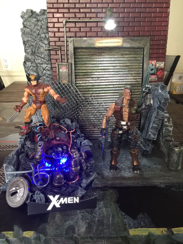 Marvel legends custom diorama!!! for Sale in Los Angeles, CA - OfferUp