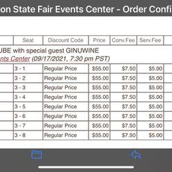 Ice cube & Ginuwine Tickets- Puyallup Fair 9/17 Thumbnail