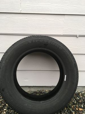 1 Brand new Firestone. FR 710 tire . The size is 205 60 16  0e8a868dc
