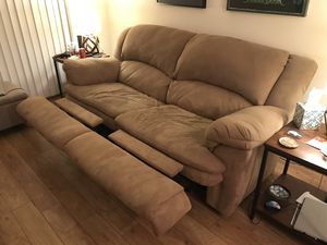 Very Comfy Reclining Couch for Sale in Fairfax, VA