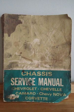 1969 Chassis Service Manual for Sale in Gaithersburg, MD
