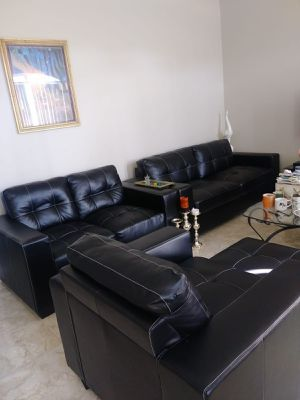 Black Leather Couch For In Orlando Fl