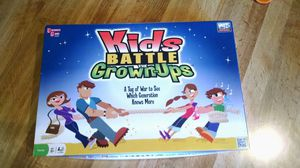 Kids Battle the Grown-ups Board Game for Sale in Akron, OH
