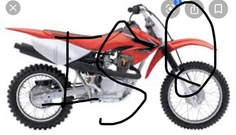 Photo Go karts, dirt bikes, pit bikes, 4 wheelers for sale