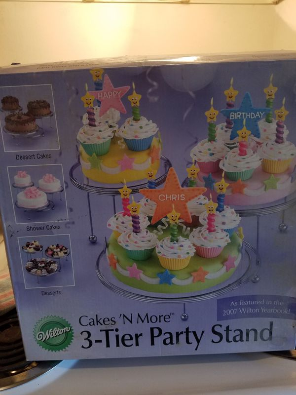 Wilton Cake Stand For Sale In Fayetteville Nc Offerup