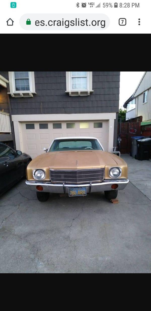 1970 Monte Carlo for Sale in San Jose, CA - OfferUp