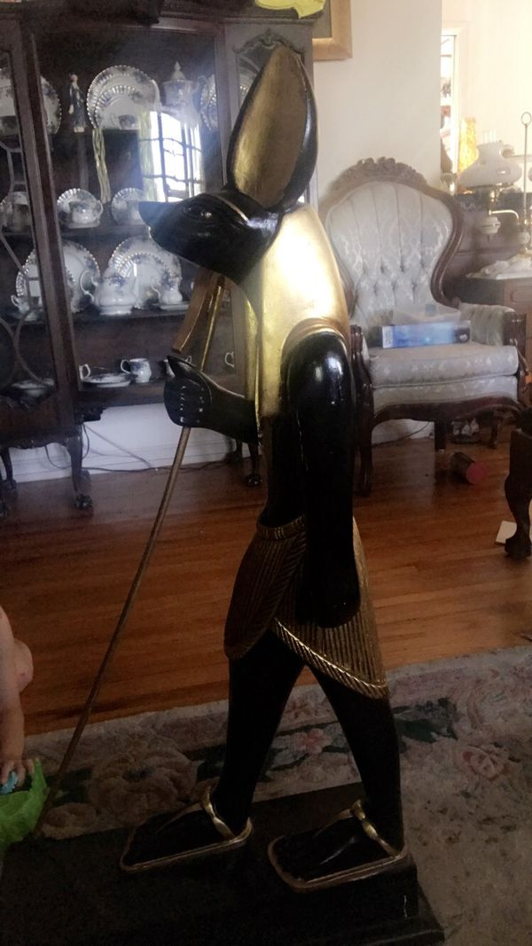 Egyptian statue of Anubis from Egypt for Sale in Whittier, CA - OfferUp