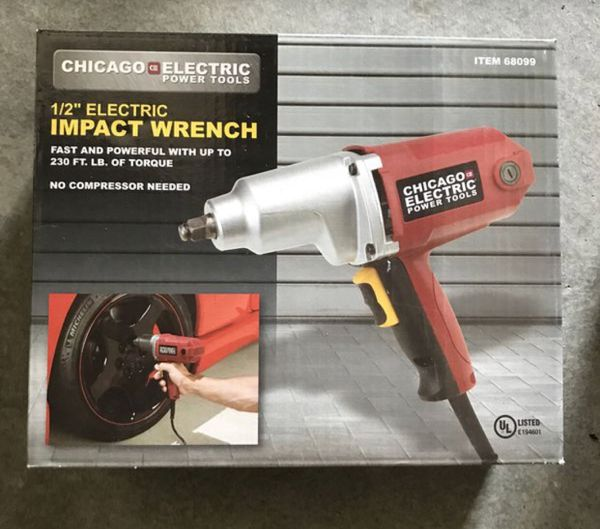Electric Impact Wrench Used Once