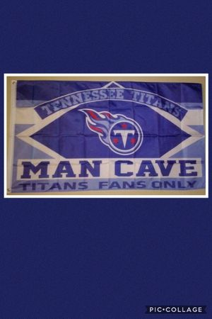 TENNESSEE TITANS FLAG for Sale in Las Vegas, NV