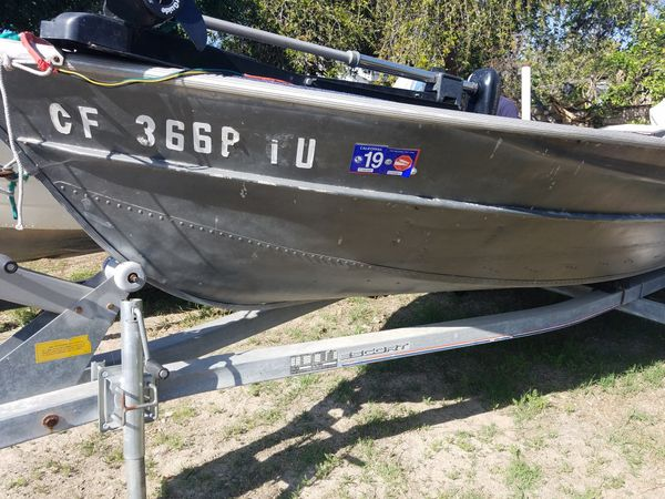 Aluminum Fishing Boats For Sale >> 14 Aluminum Fishing Boat For Sale In Westminster Ca Offerup
