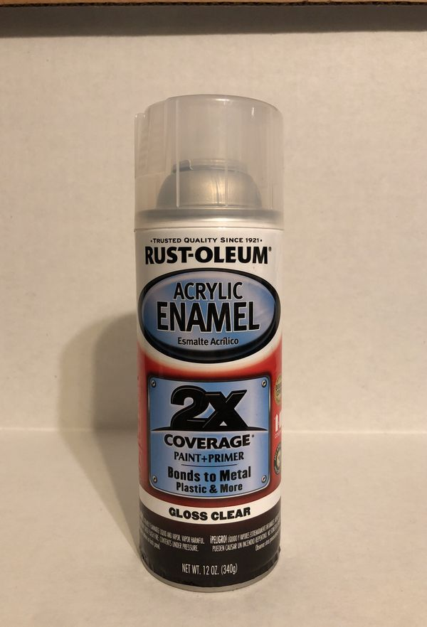 Acrylic Enamel Paint >> Rust Oleum Acrylic Enamel Paint And Primer Gloss Clear For Sale In South Gate Ca Offerup