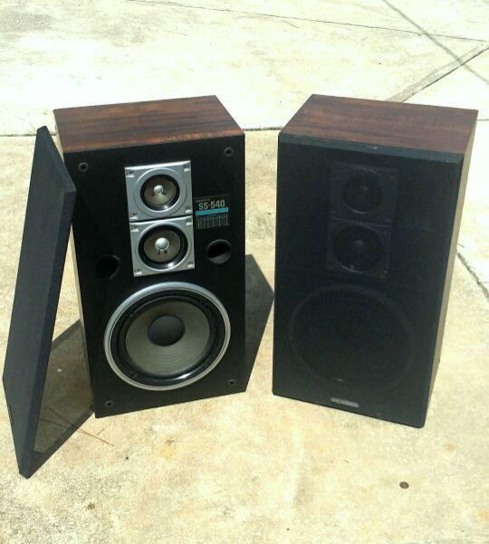 Vintage Pair of Sanyo Model SS-540 Speakers for Sale in Orange City, FL -  OfferUp