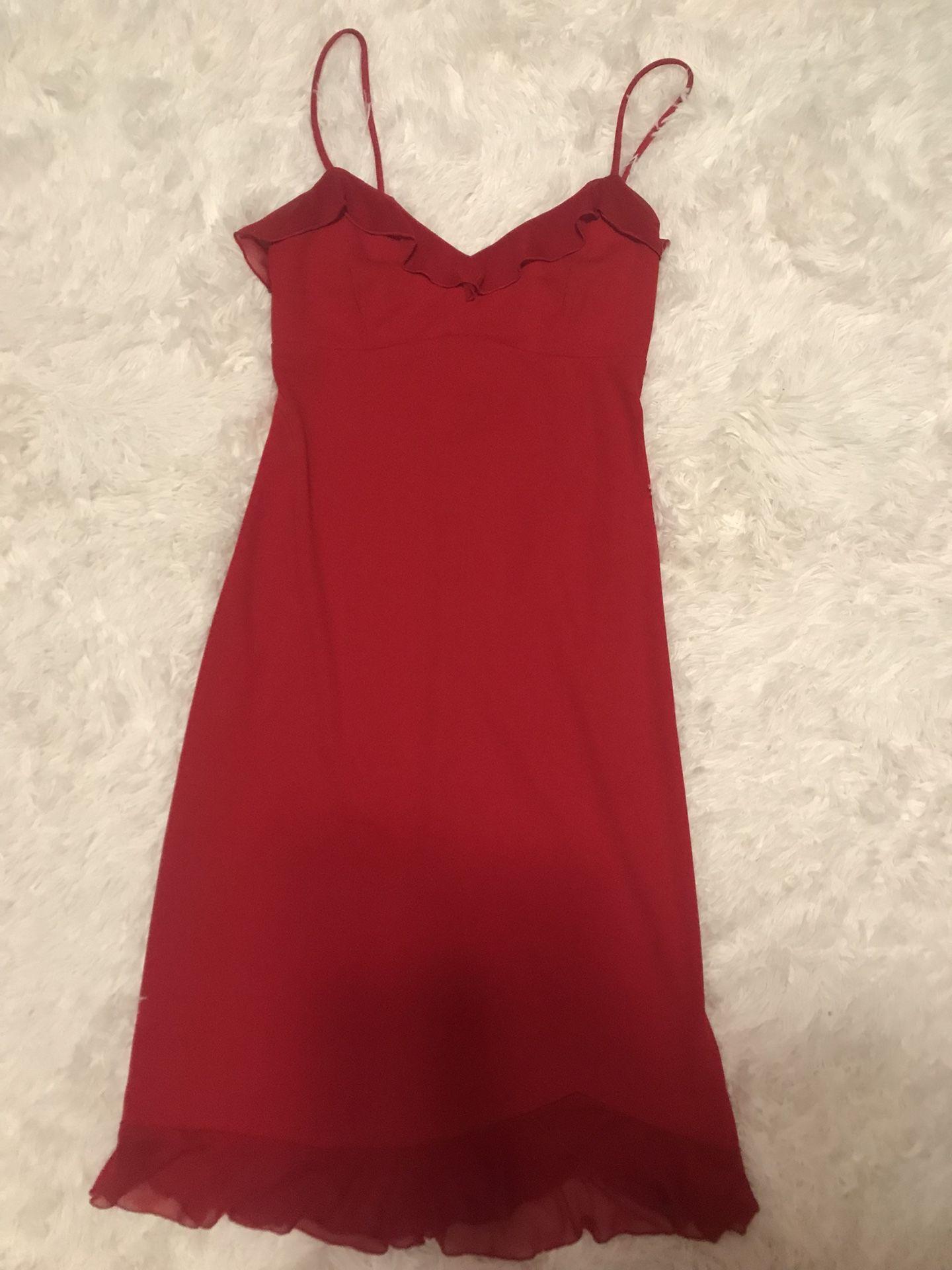 Pretty Red Dress sz small