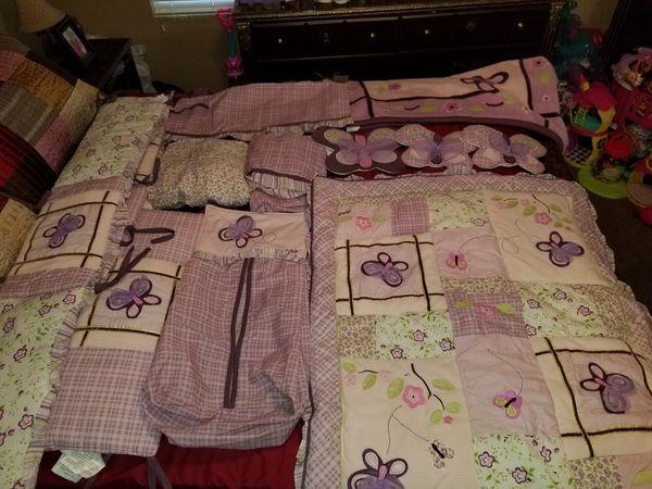 Cocalo Sugar Plum Crib Bedding Set For Sale In Tempe Az Offerup